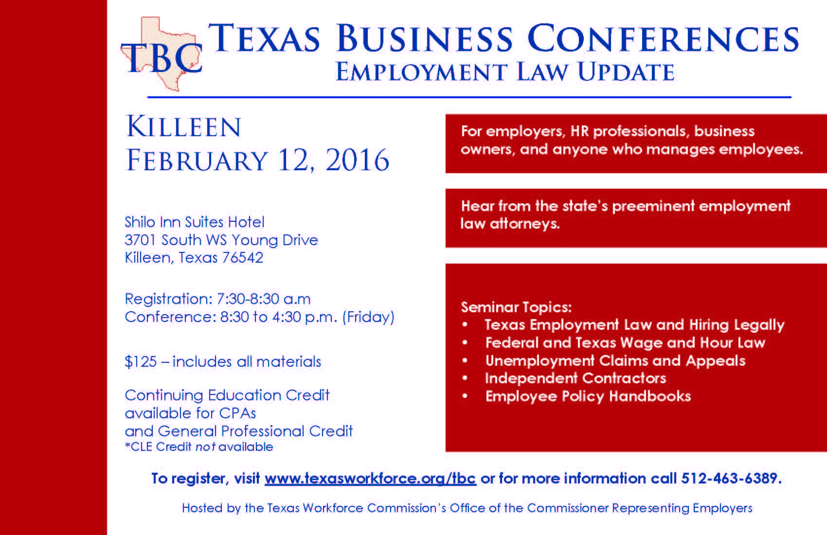 employment law seminar This seminar is approved defense and labor & employment practice areas during law employers in all aspects of labor and employment law.